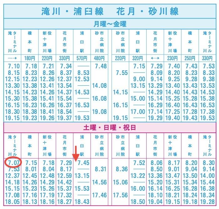 表 時刻 中央 北海道 バス